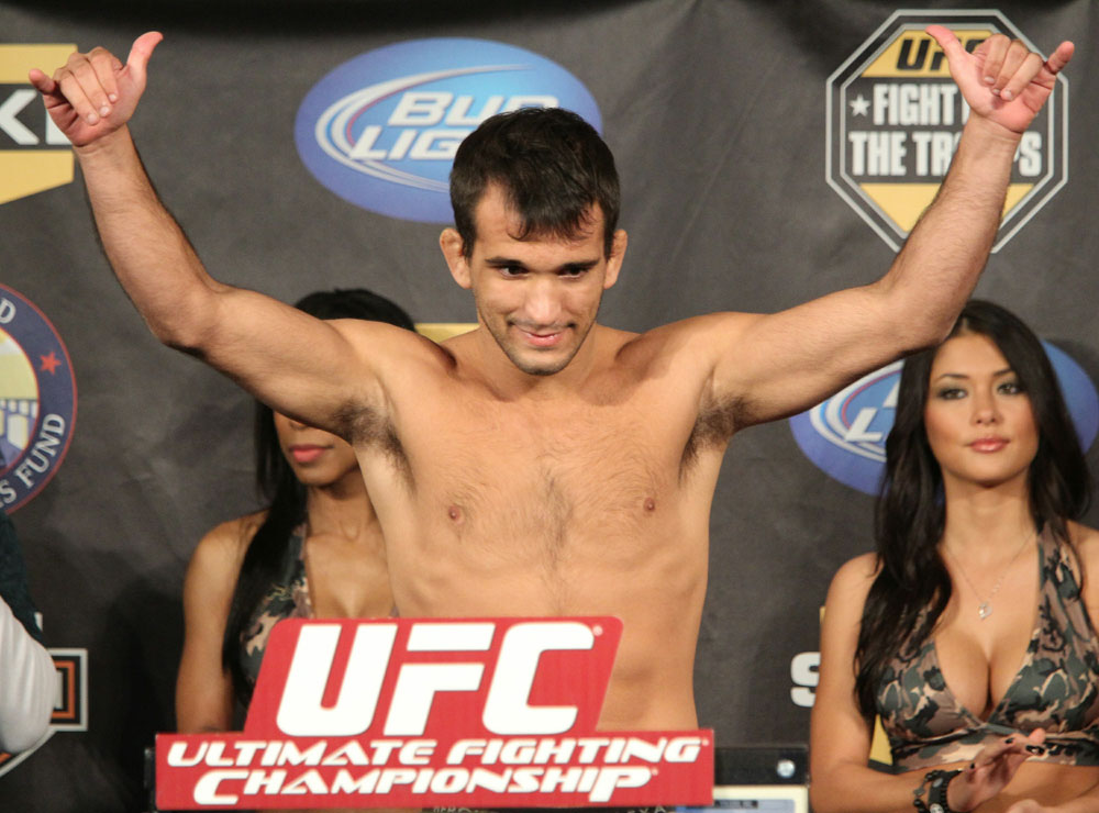 UFC Fight for the Troops Weigh in: Rani Yahya
