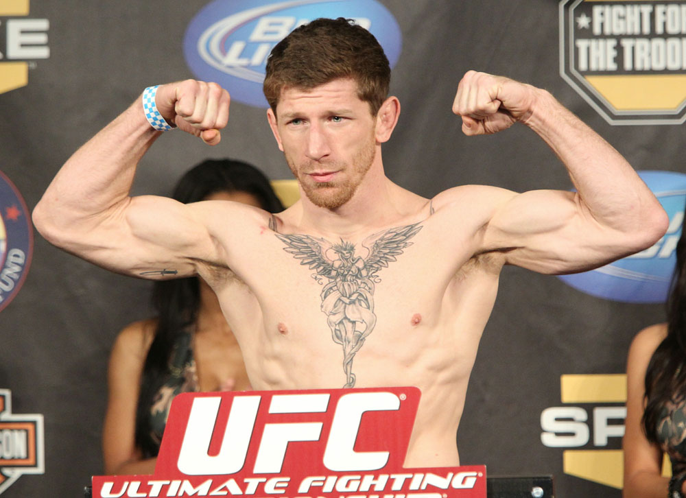 UFC Fight for the Troops Weigh in: Mike Brown