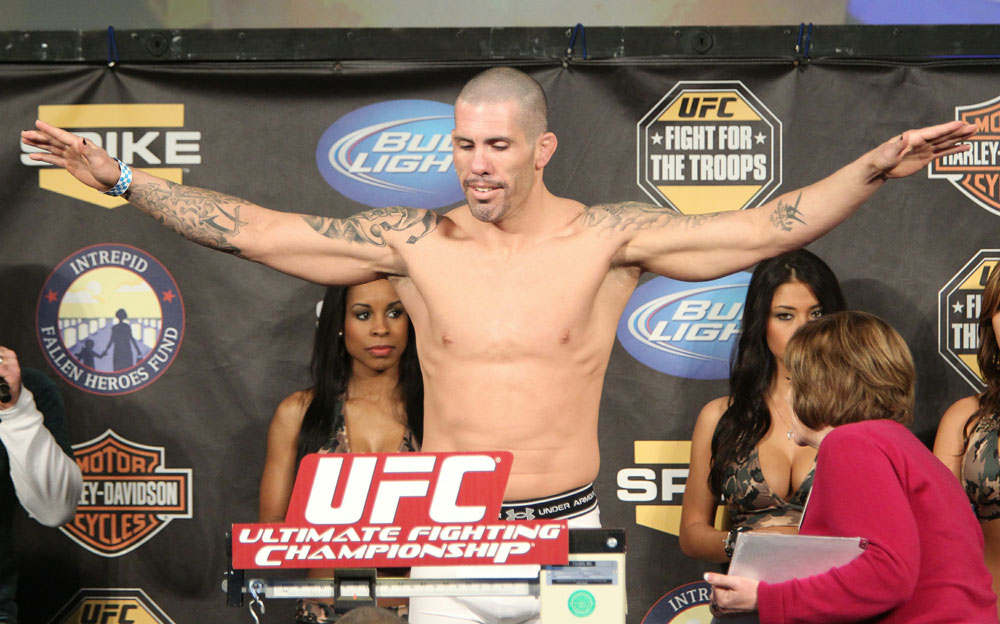 UFC Fight for the Troops Weigh in: Mike Guymon