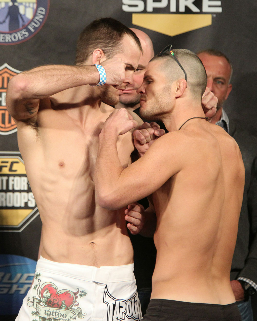 UFC Fight for the Troops Weigh in: Miller vs. Wiman