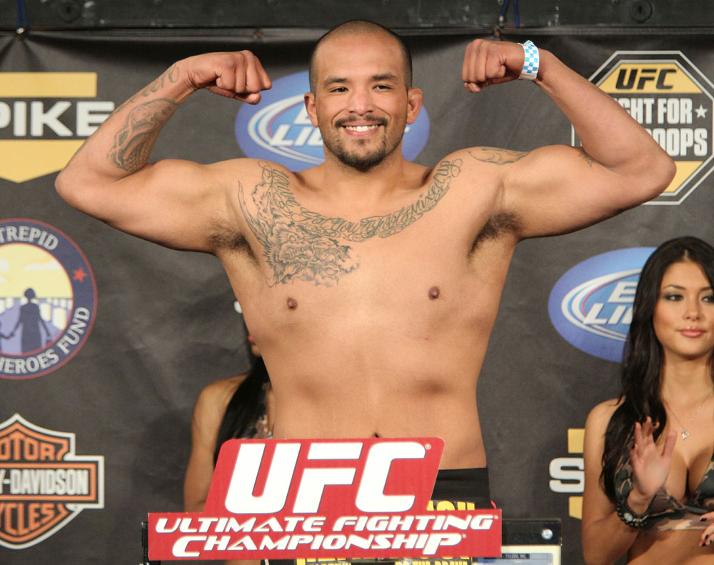 UFC Fight for the Troops Weigh in: Joey Beltran