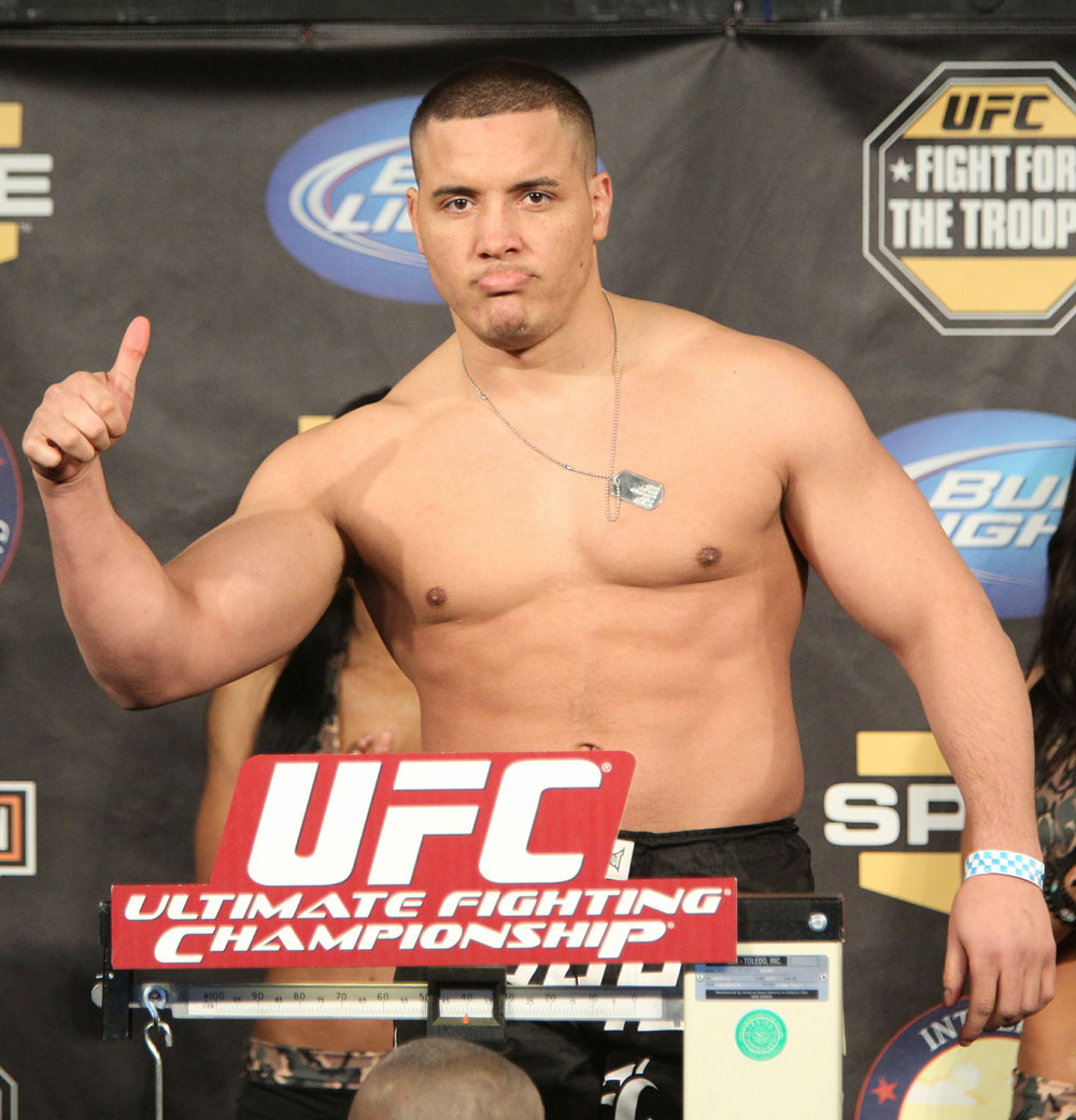 UFC Fight for the Troops Weigh in: Pat Barry