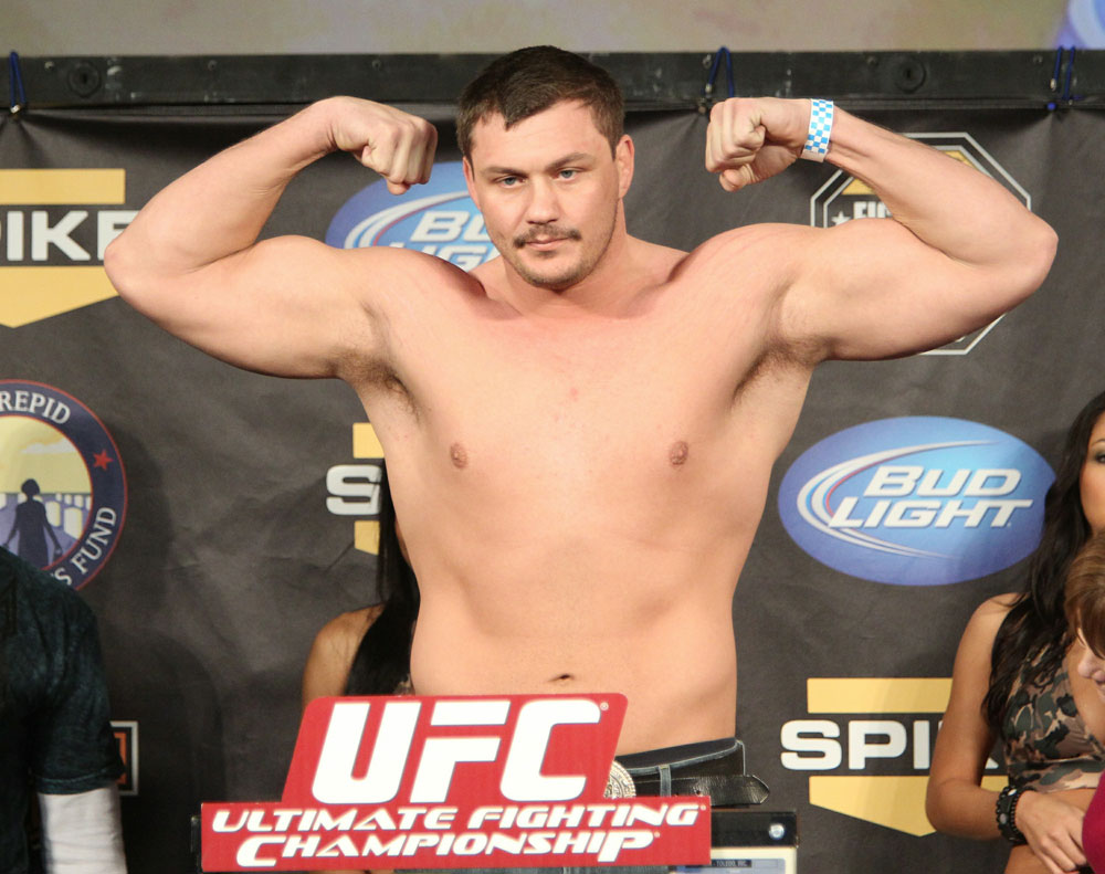 UFC Fight for the Troops Weigh in: Matt Mitrione