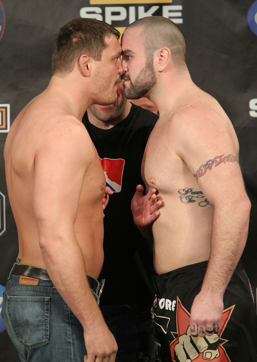 UFC Fight for the Troops Weigh in: Mitrione vs. Hague