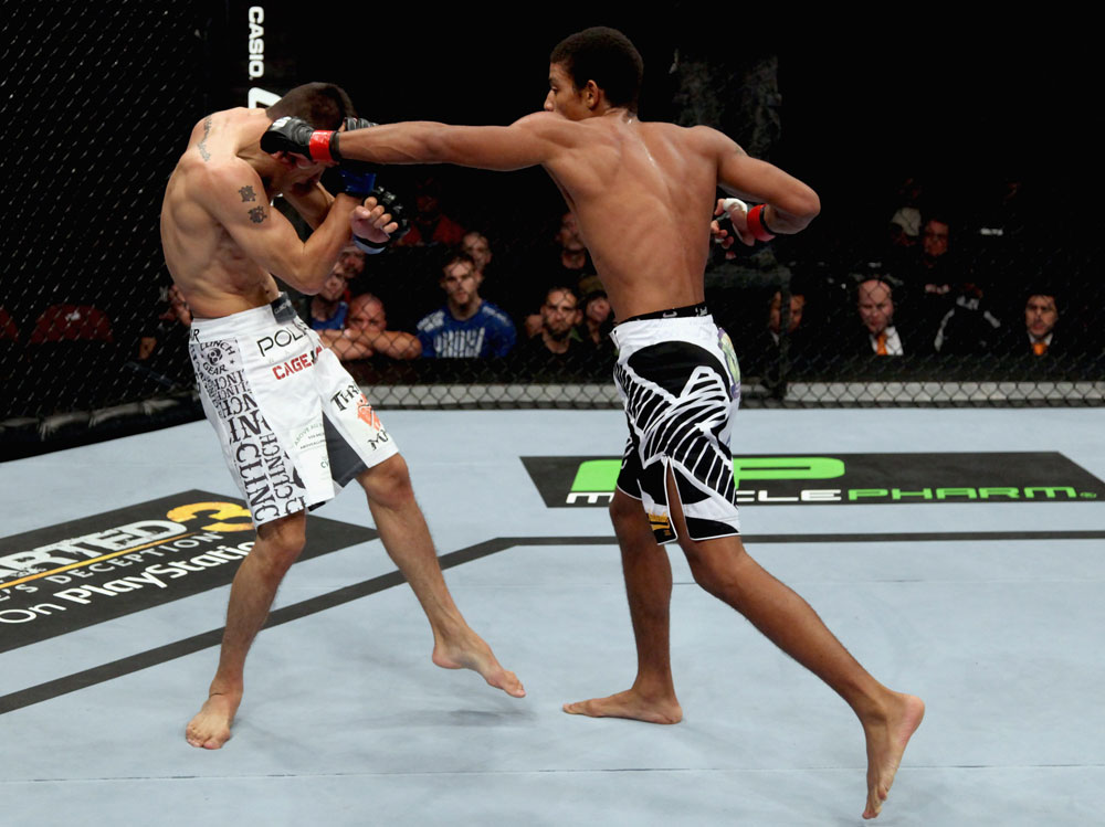 Alex Caceres vs Cole Escovedo