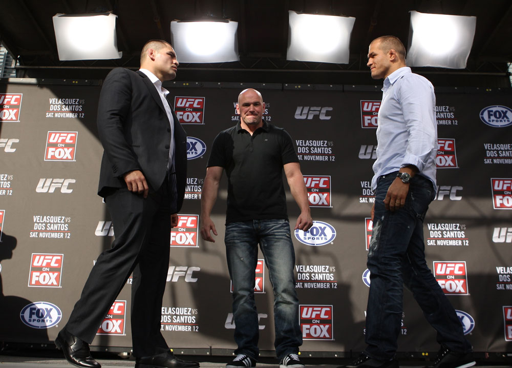 Cain Velasquez, Junior dos Santos &amp; UFC President Dana White