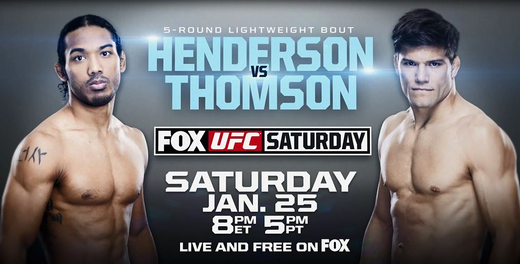 UFC on FOX 10: Henderson vs. Thomson