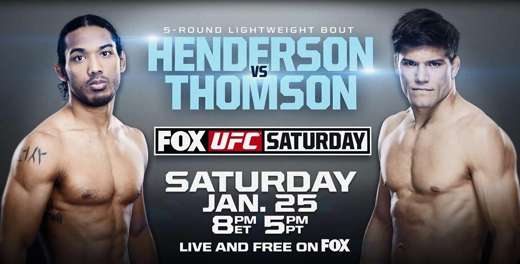 UFC on FOX 10: Henderson vs. Thomson