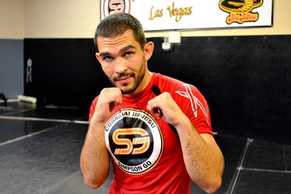 UFC flyweight Ulysses Gomez