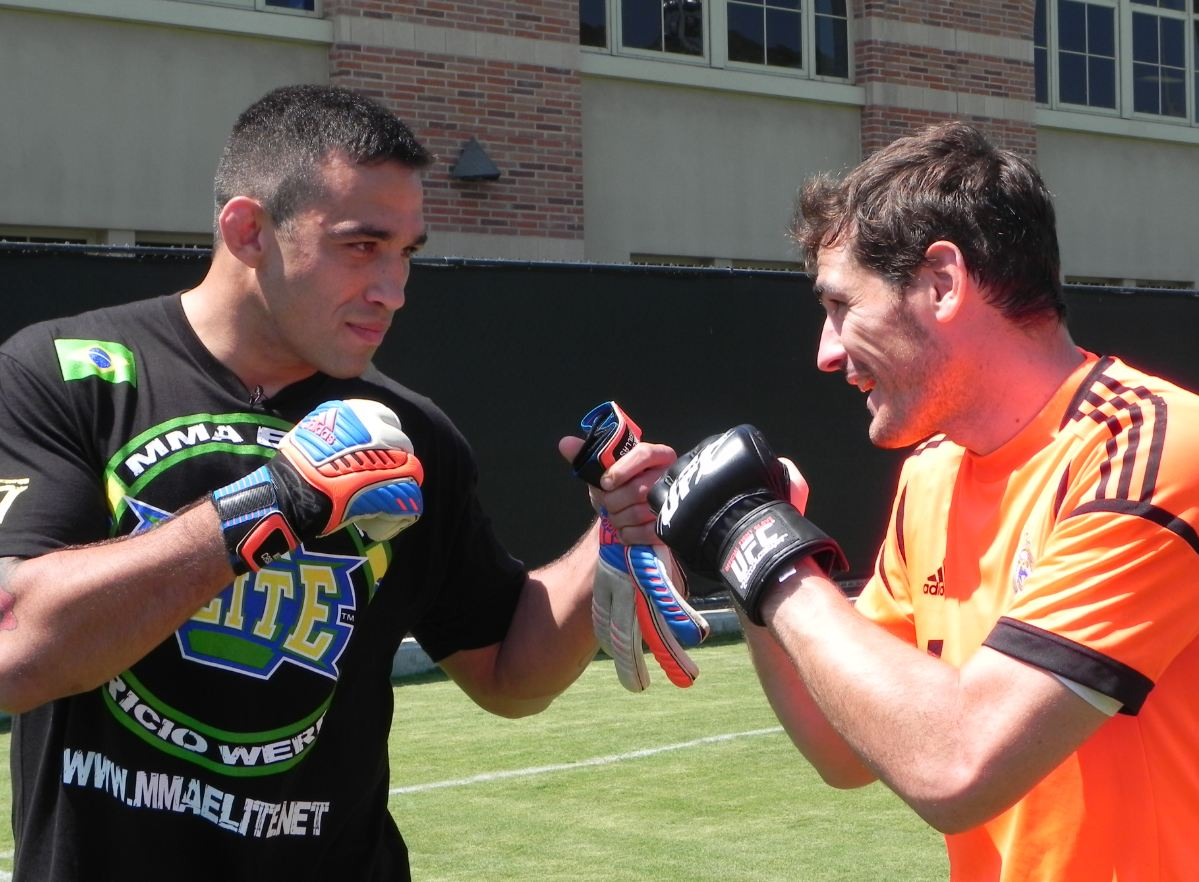 Werdum vs Casillas