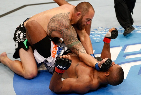 Browne finishes Overeem via hammer fist