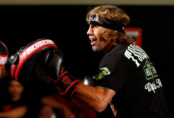 Faber training for upcoming fight