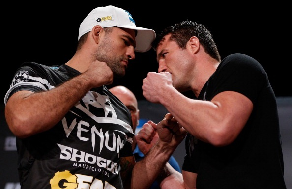 "Mauricio ""Shogun"" Rua and Chael Sonnen"