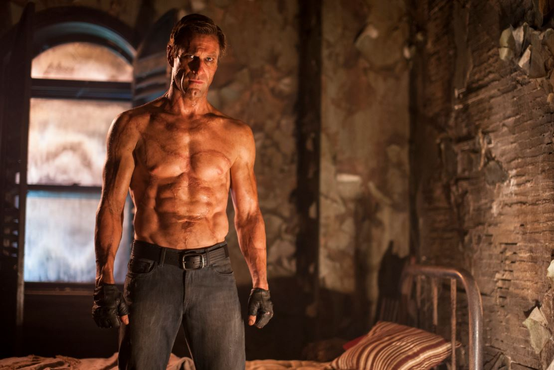 Aaron Eckhart in I, FRANKENSTEIN. Photo: Ben King