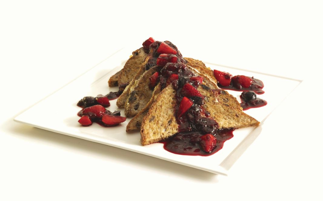 UFC FIT: East Coast Breakfast Toast Recipe