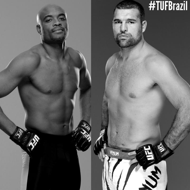 Anderson Silva and Shogun Rua to Coach TUF Brazil 4