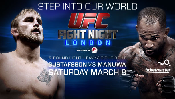 UFC London tickets on sale January 31st
