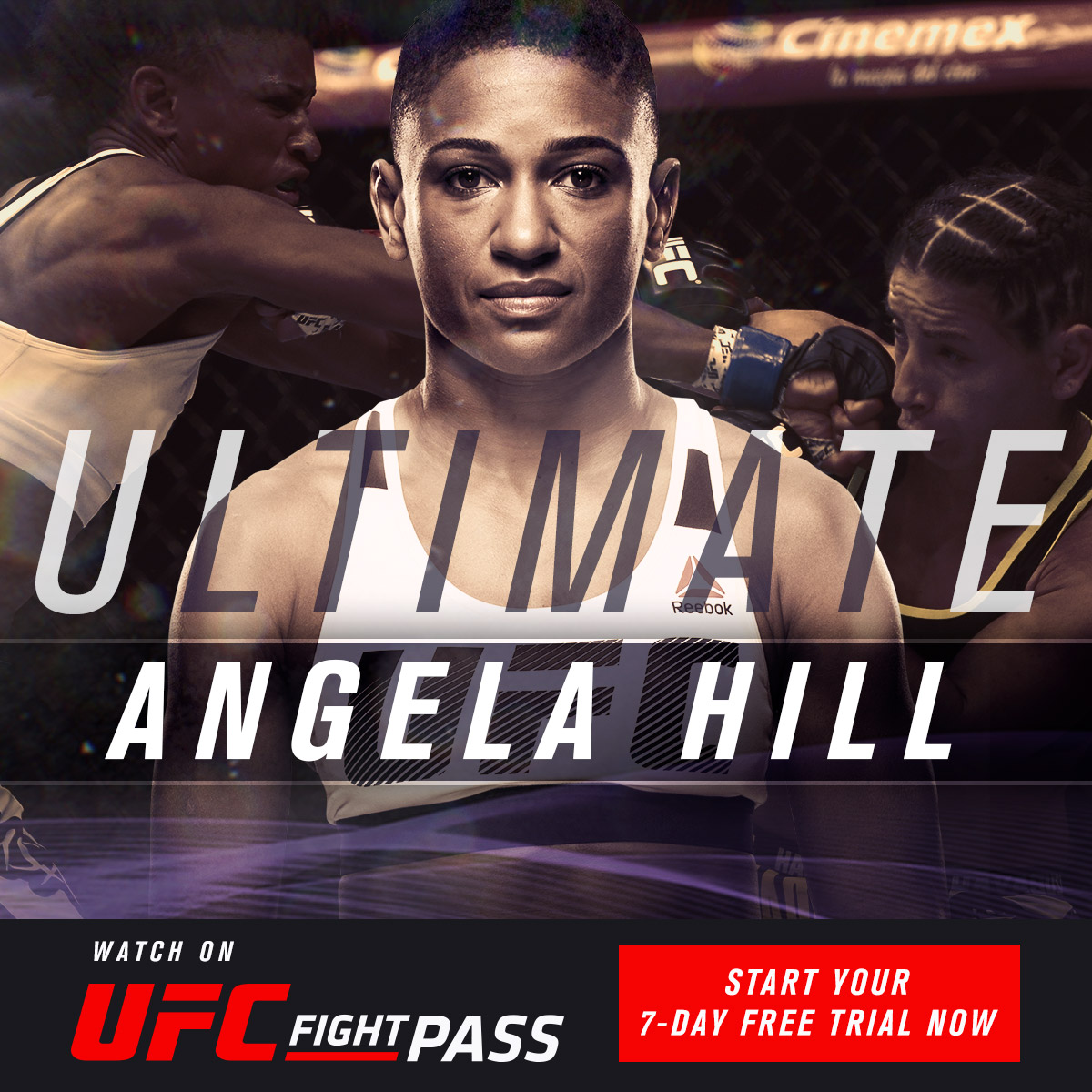 Watch the Ultimate Angela Hill collection now on UFC FIGHT PASS, including Hill's win over Livia Renata Souza for the Invicta FC strawweight title, which is free this week on FIGHT PASS.