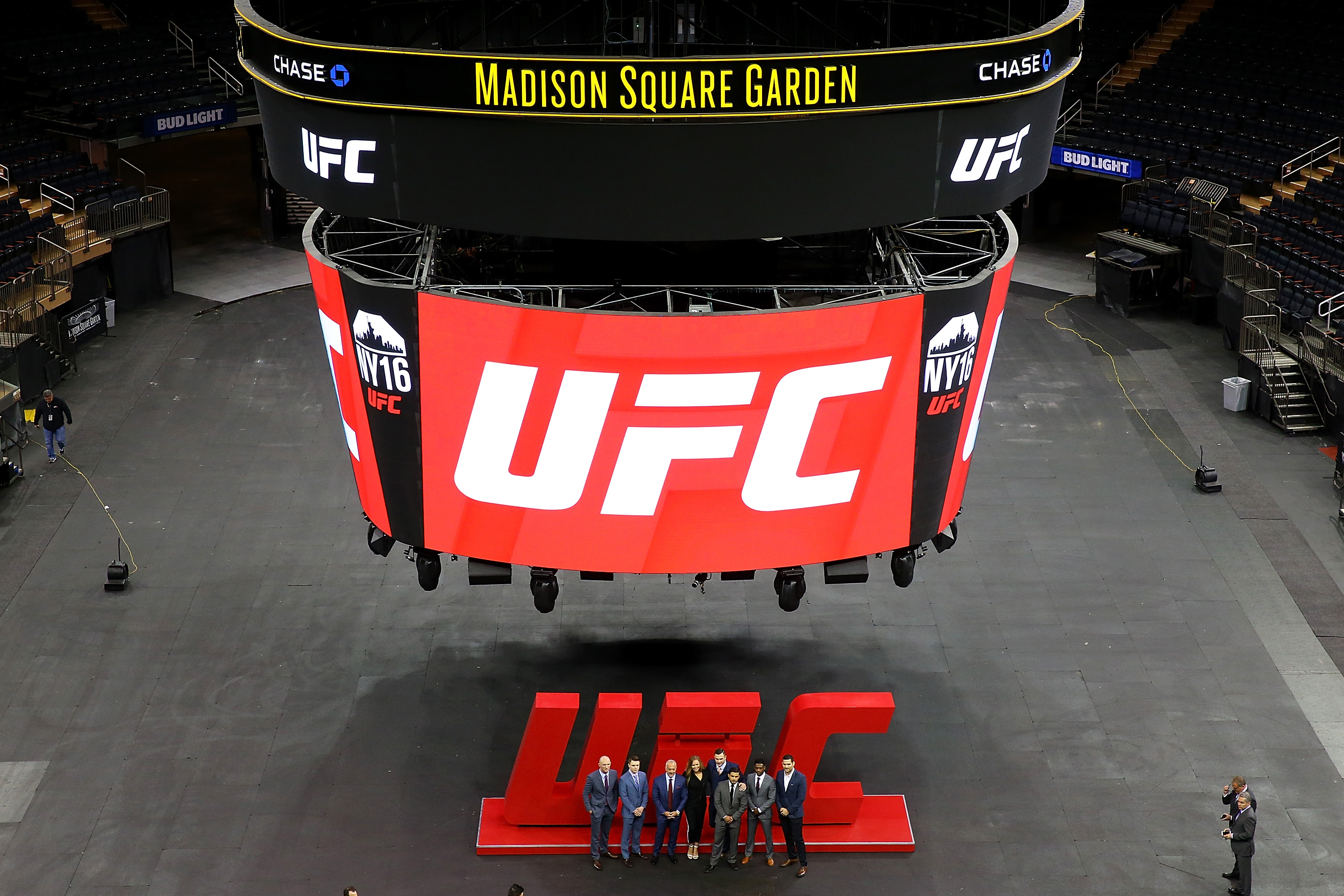 Thereu0027s No Place Like New Yorku0027s Madison Square Garden   Ultimate Fighting  Championship Mobile