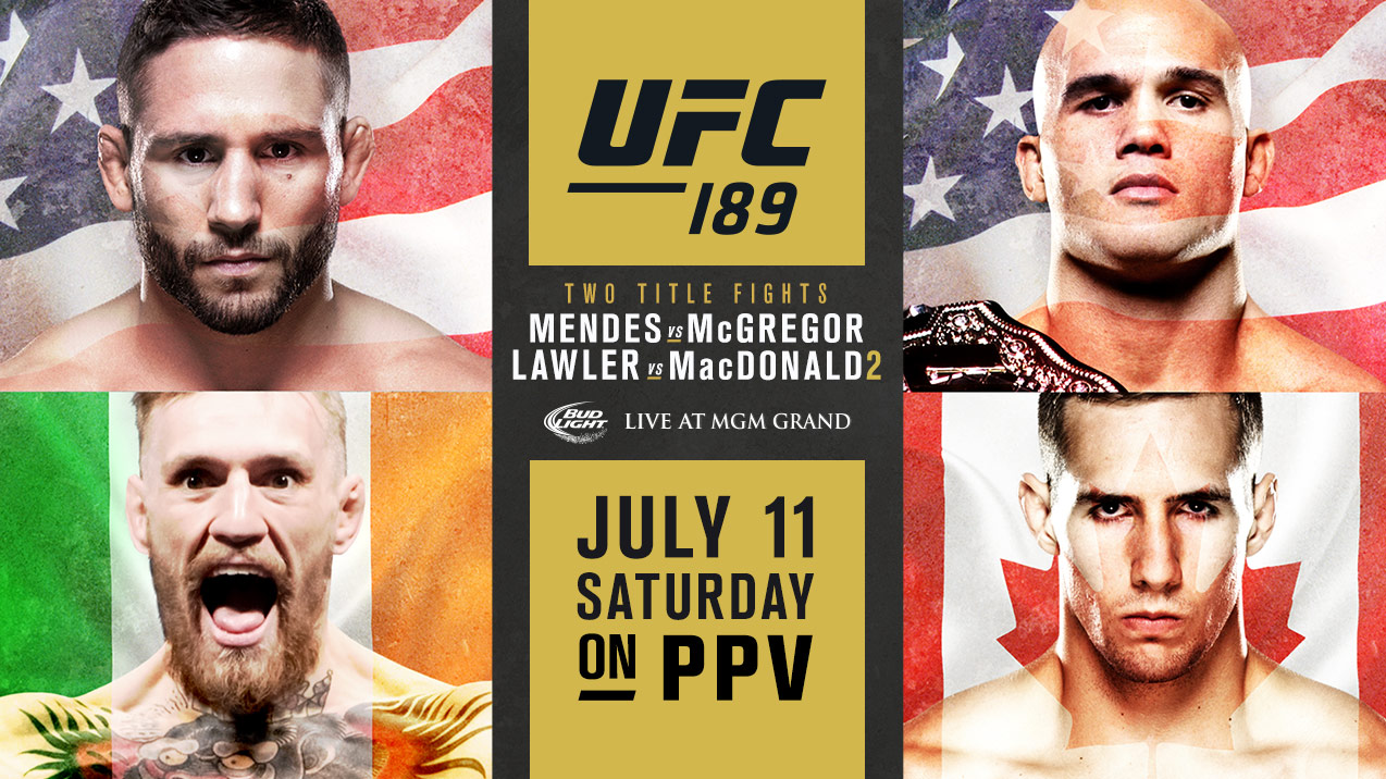 UFC 189 Preview: 5 storylines to watch, betting odds