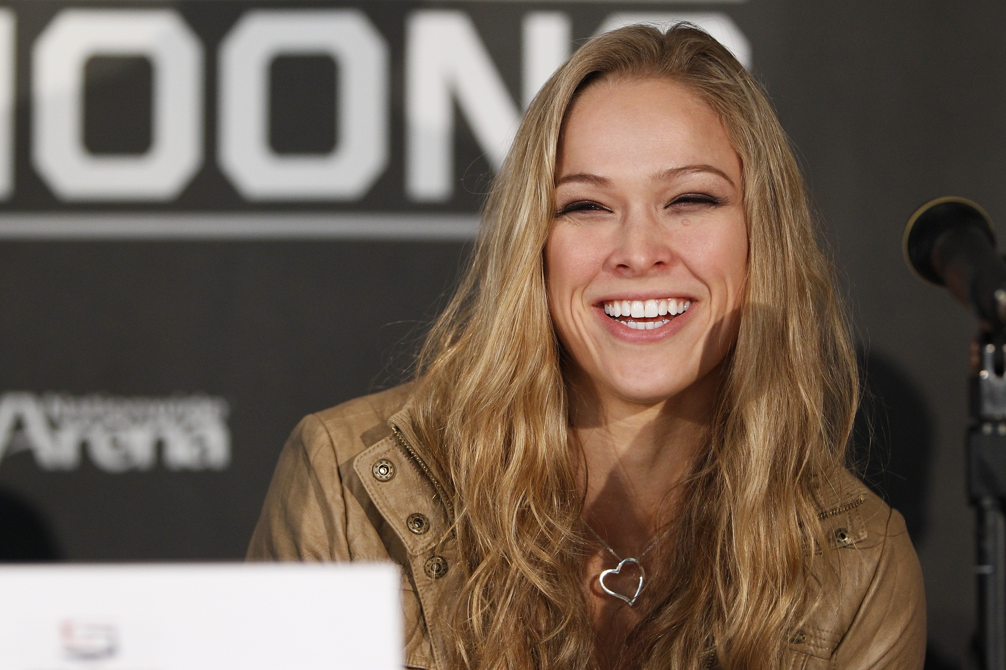 Strikeforce bantamweight champ Ronda Rousey