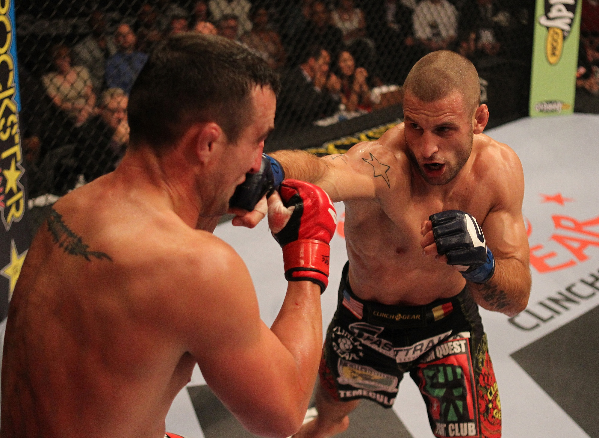 Strikeforce welterweight Tarec Saffiedine