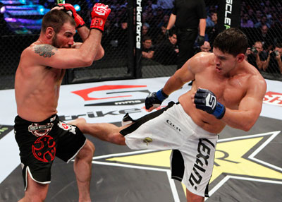 UFC welterweight Brian Melancon