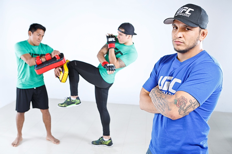 The Ultimate Fighter: Latin America 2 (L-R) Enrique Barzola, Marco Olano, Efrain Escudero.