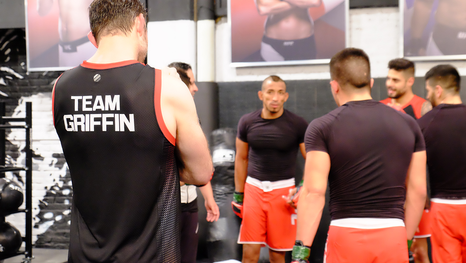 Forrest Griffins last day with the Ultimate Fighter LATAM team