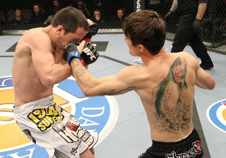 The ultimate fighter team gsp vs team koscheck finale for Loveland tattoo shops