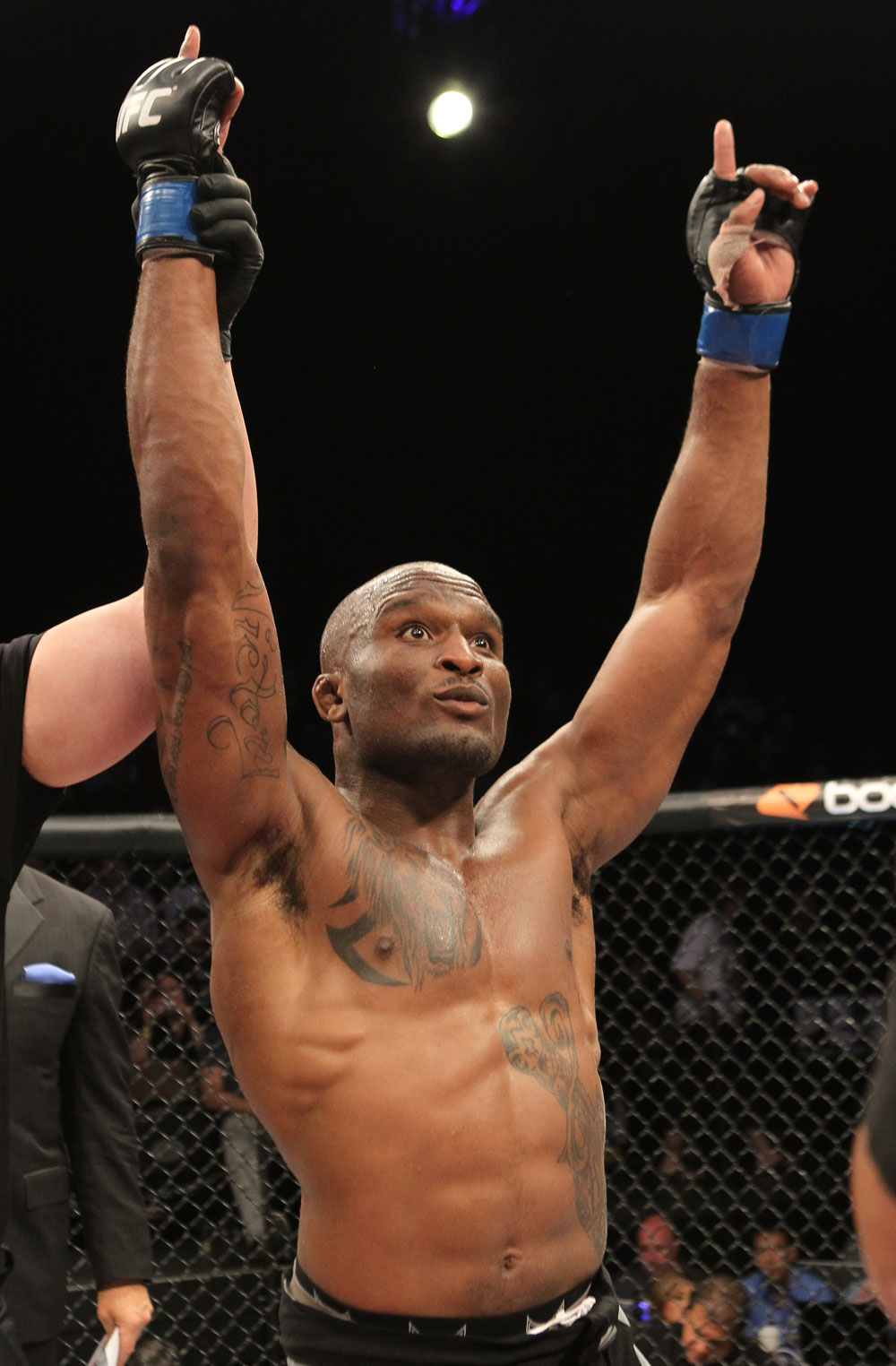 The Ultimate Fighter Season 13 Finale: Shamar Bailey celebrates his win