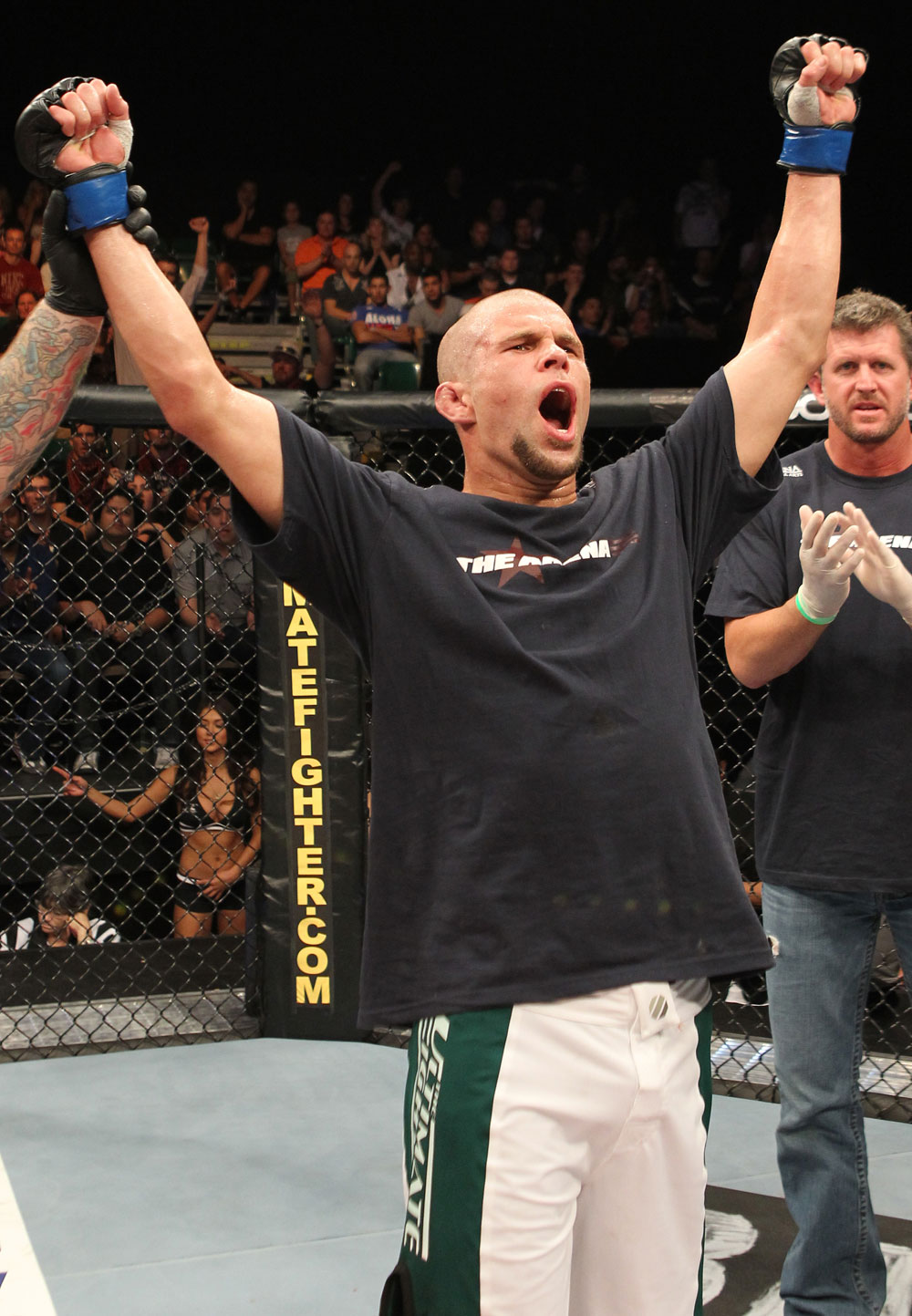 The Ultimate Fighter Season 13 Finale: Chris Cope celebrates his win