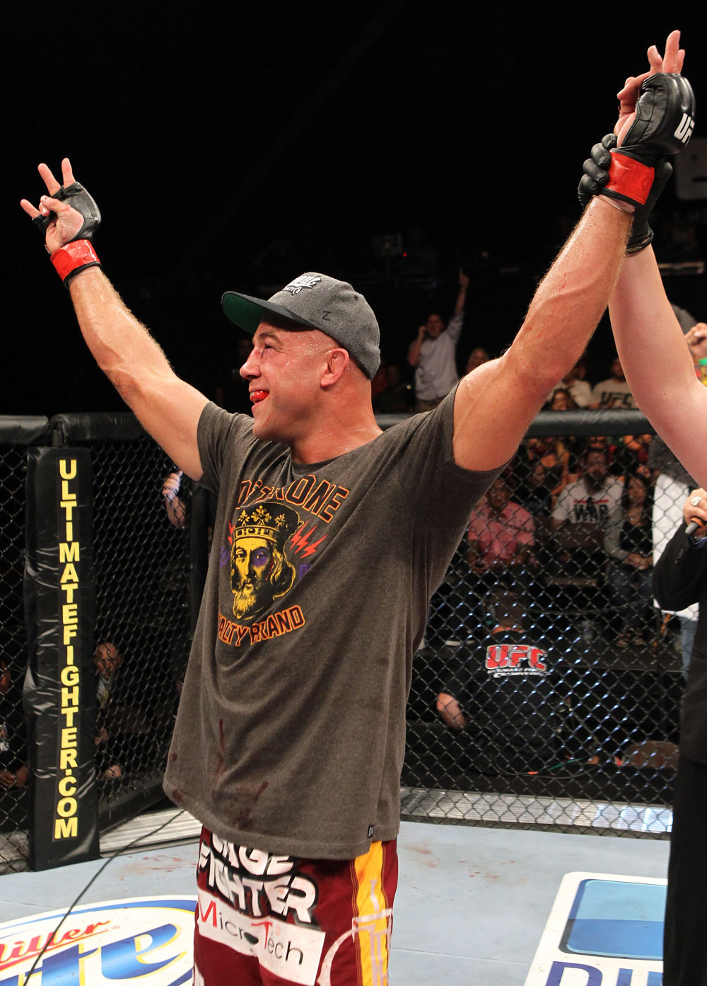 The Ultimate Fighter Season 13 Finale: Kyle Kingsbury celebrates his win