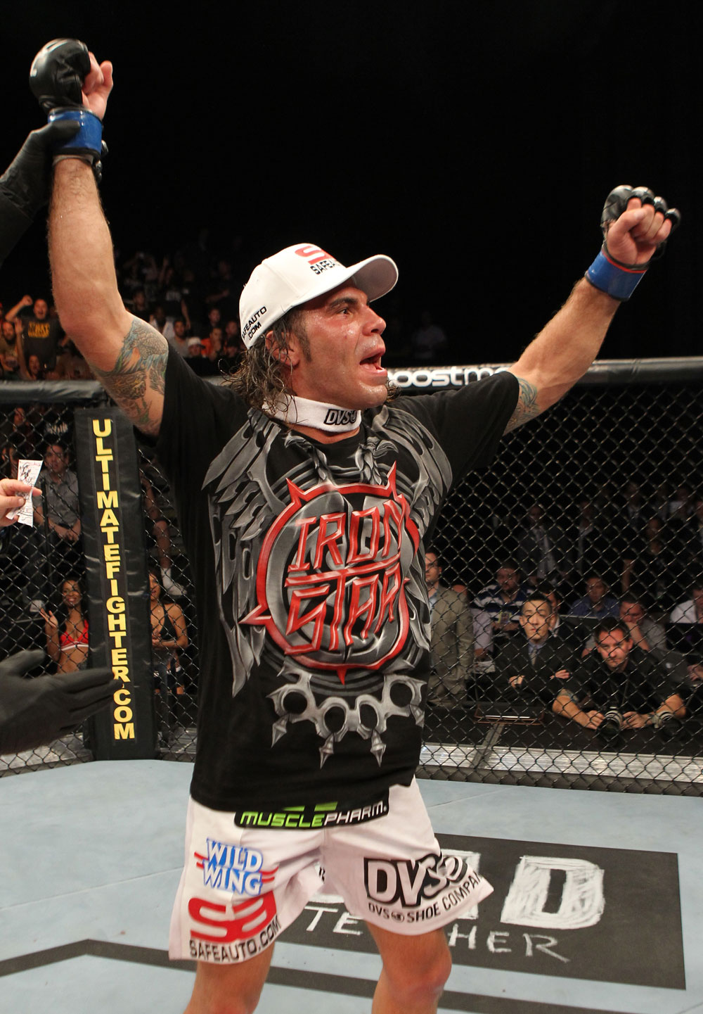 The Ultimate Fighter Season 13 Finale: Clay Guida celebrates his win