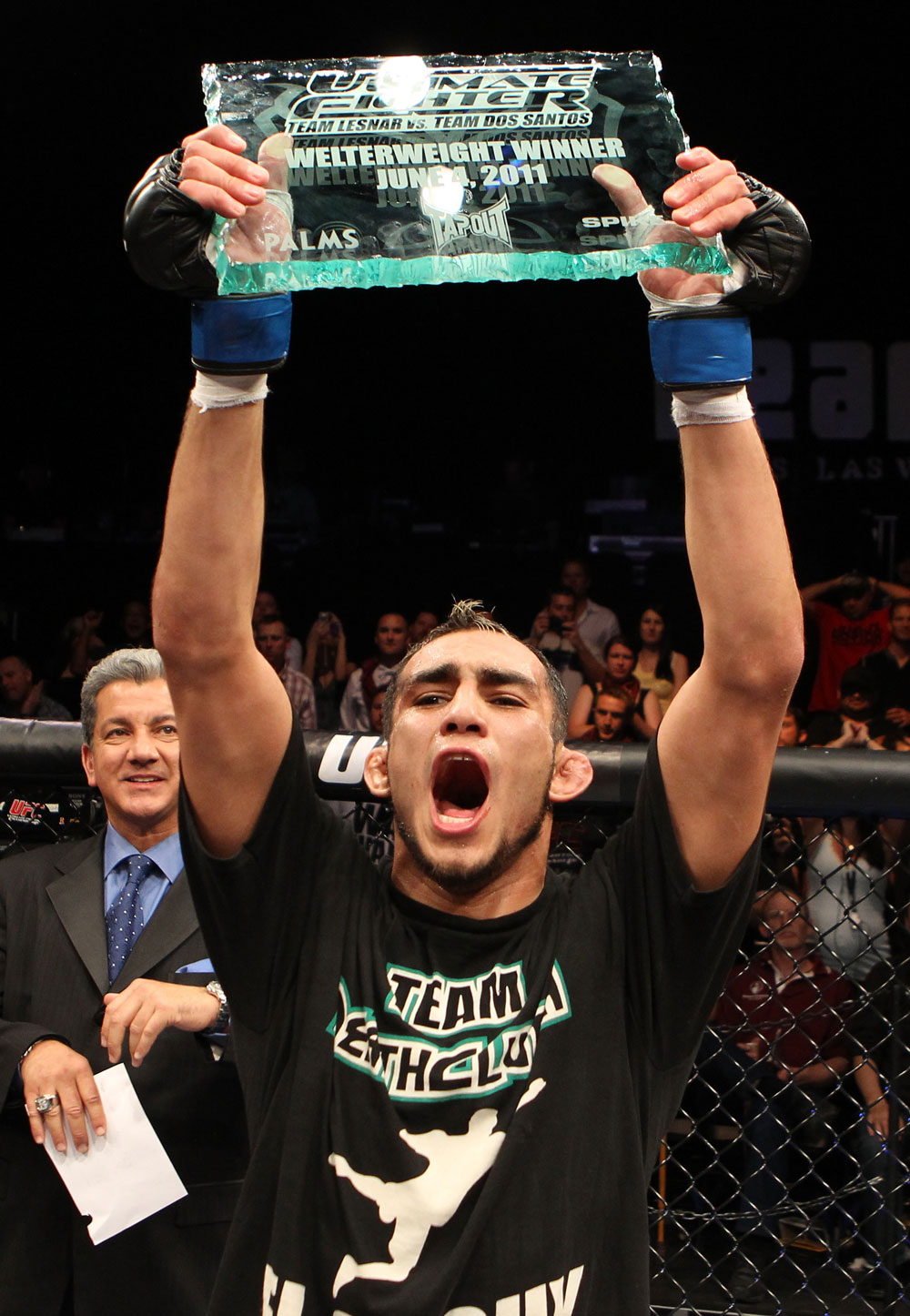 The Ultimate Fighter Season 13 Finale: Tony Ferguson celebrates his win