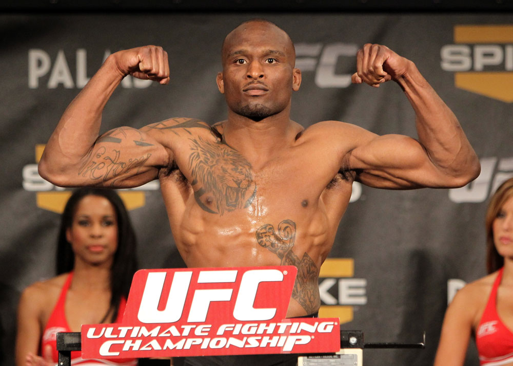 TUF 13 Finale Weigh-ins: Shamar Bailey