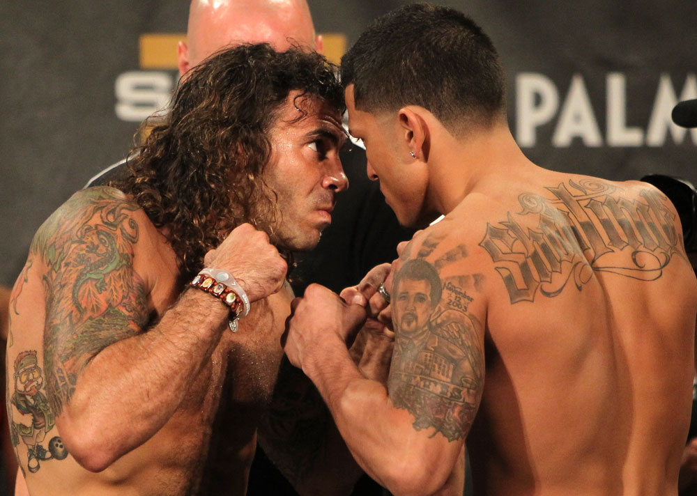 TUF 13 Finale Weigh-ins: Guida vs. Pettis