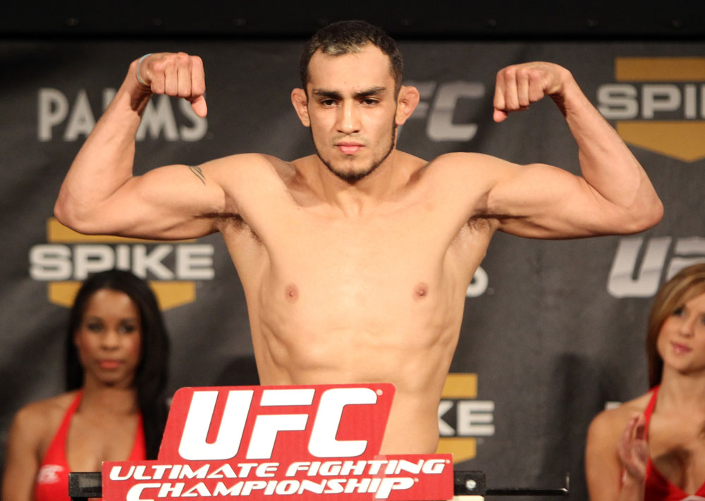 TUF 13 Finale Weigh-ins: Tony Ferguson