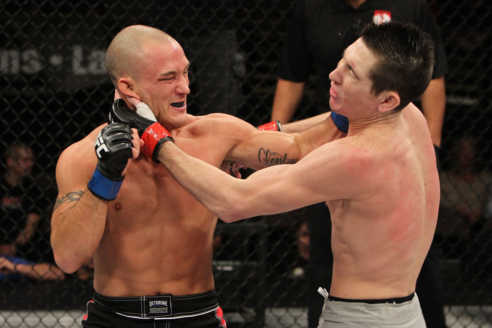 UFC featherweight Josh Clopton