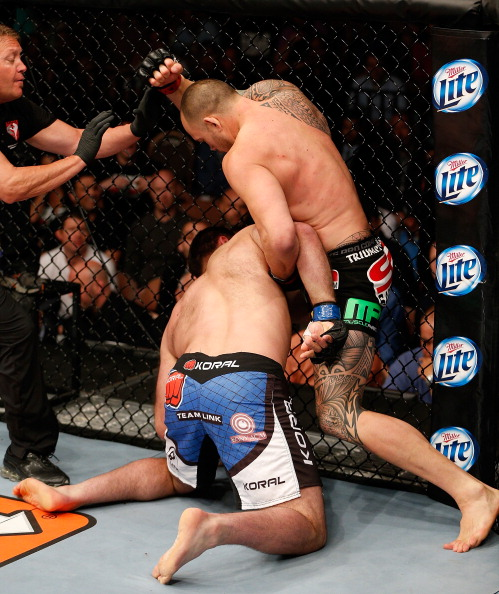 Browne delivers knockout blow against Gonzaga at the TUF 17 finale