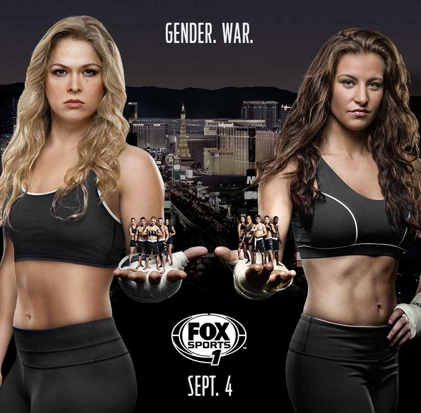 TUF 18: Team Rousey vs Team Tate