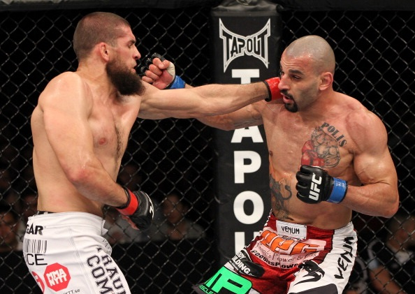 Philippou trades blows with McGee
