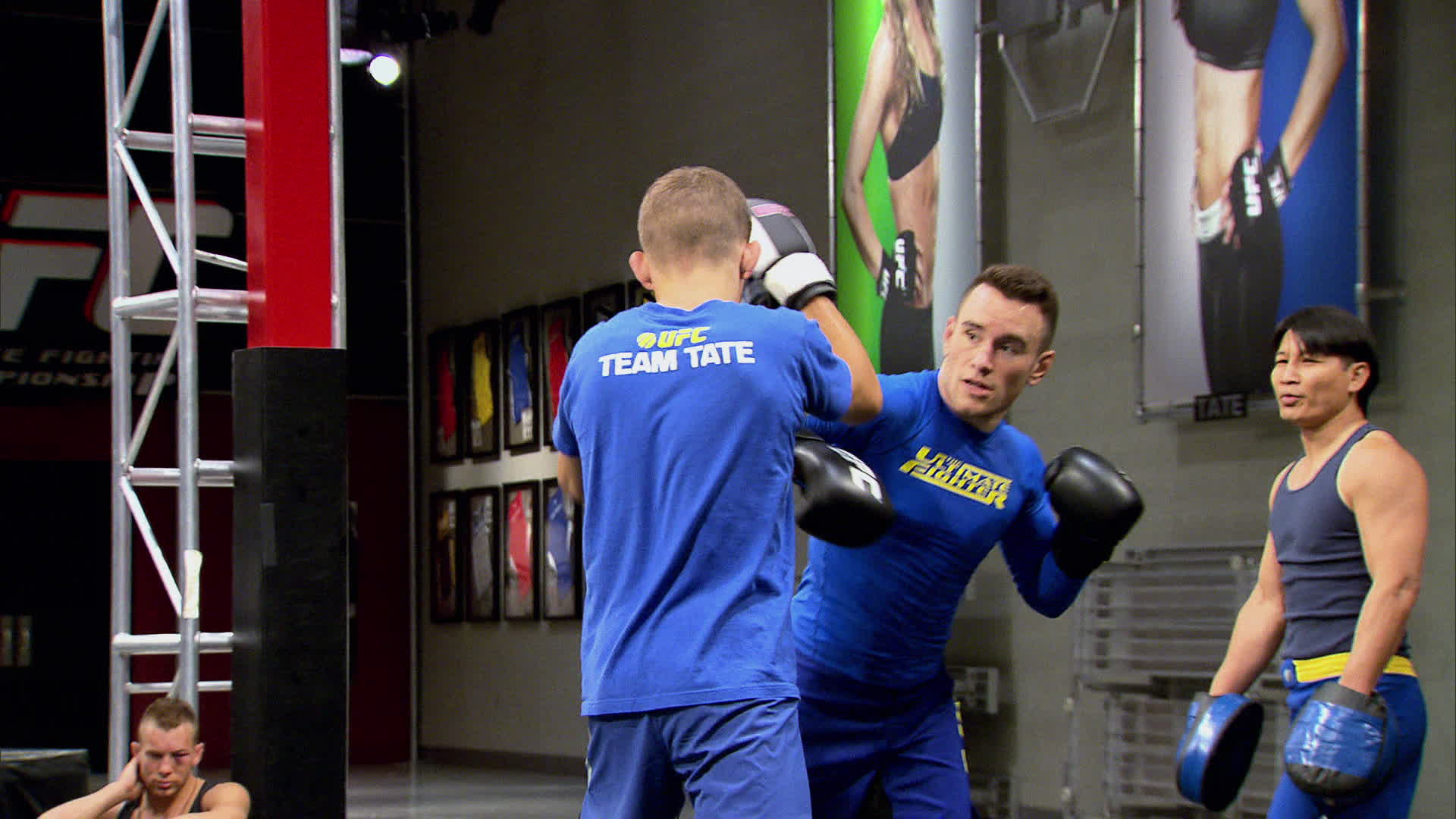 Holdsworth and Fisette spar