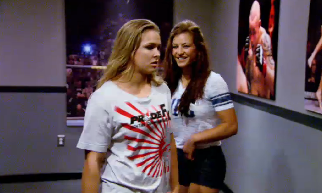 Rousey thinks she's being replaced by Tate