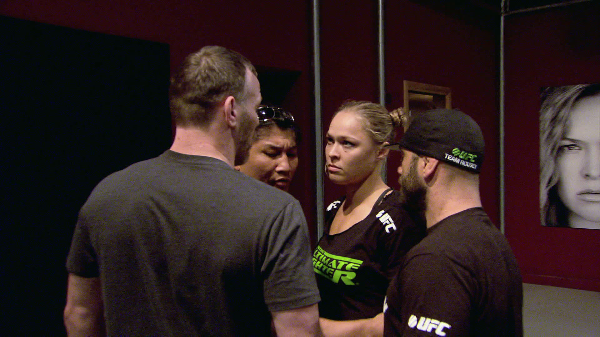 Ronda Rousey is not happy