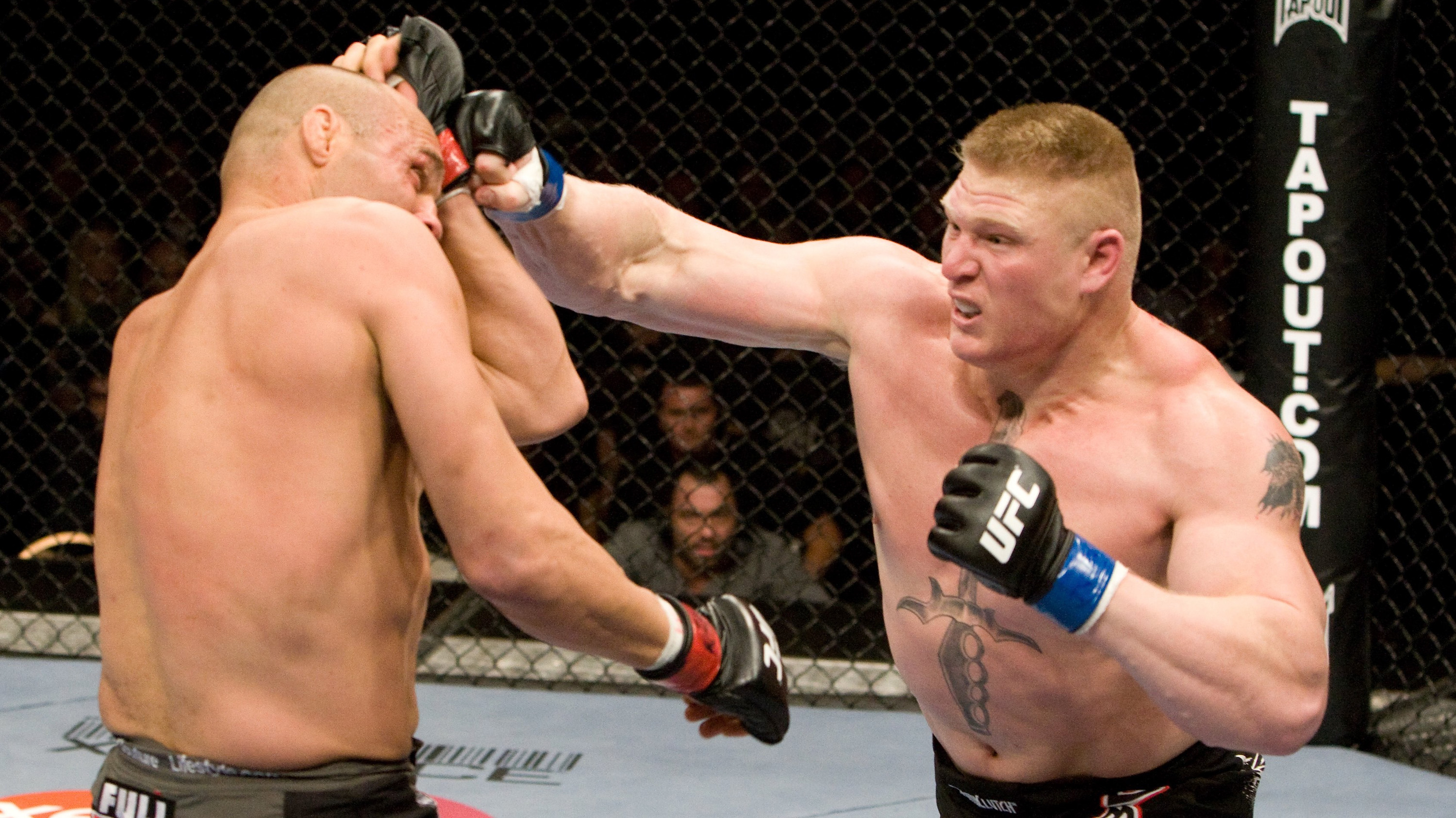 Ufc 100 brock lesnar asshole riding