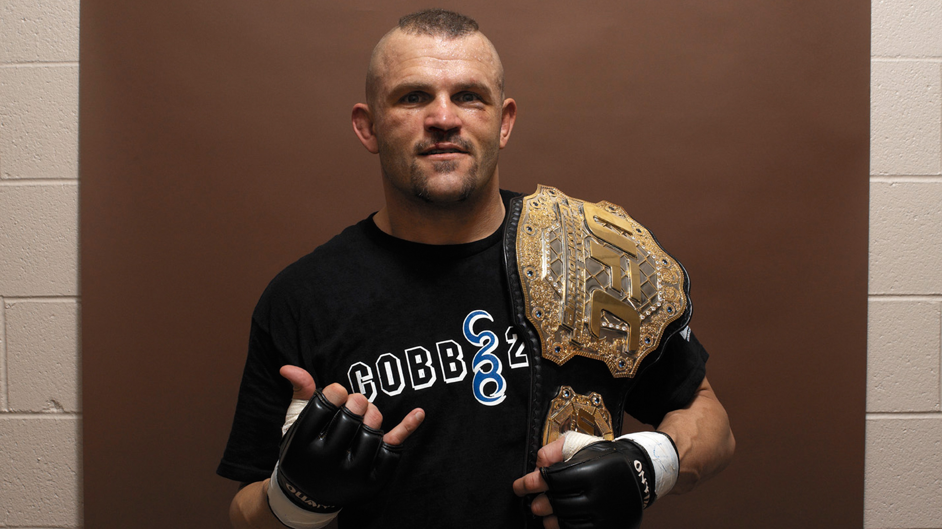 Liddell won his light heavyweight title at UFC 52 and defended it successfully 4 times (Photo credit: Kevin Lynch)