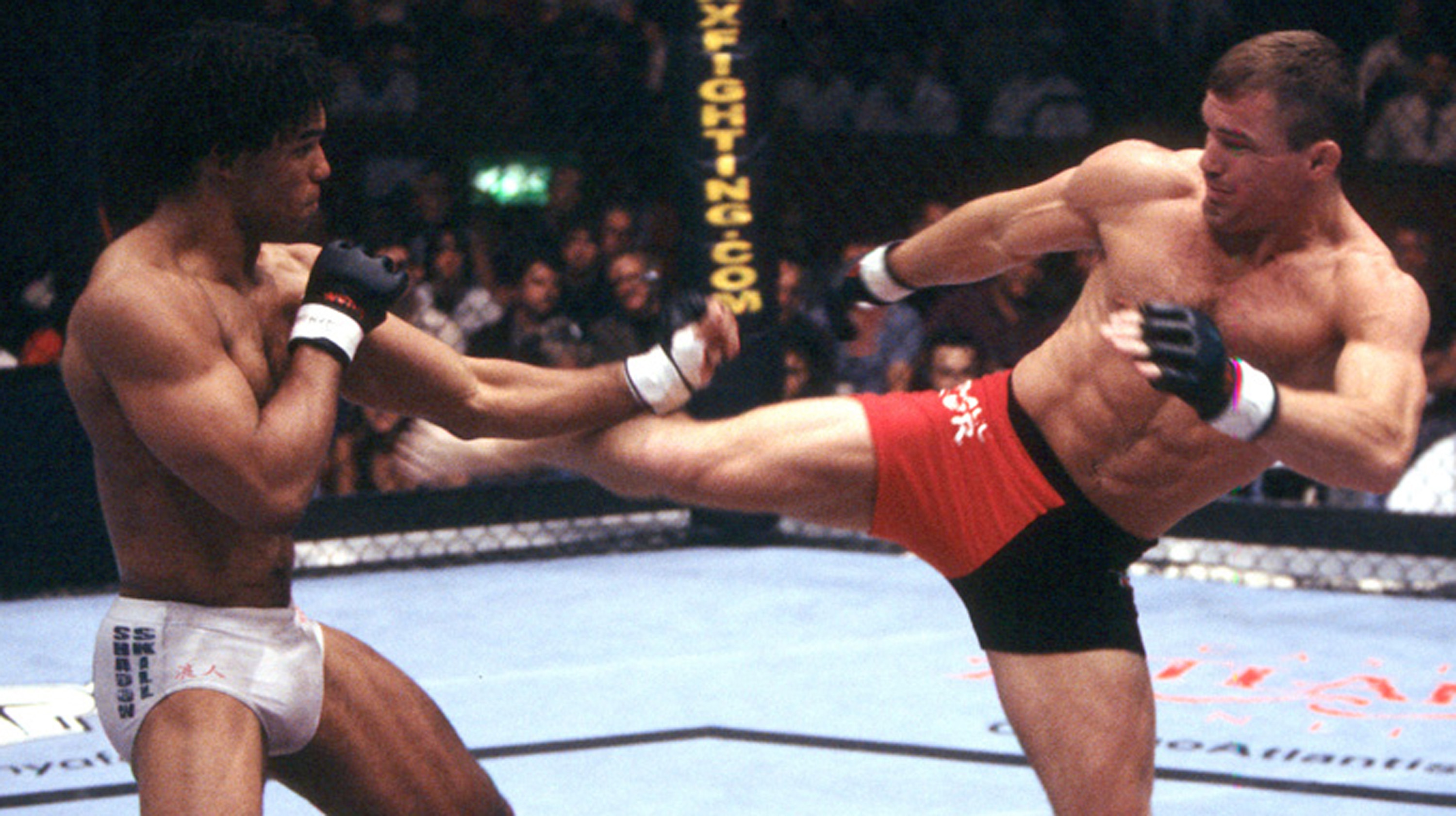 Hughes retired a two-time welterweight champion, defending his crown 7 times successfully (Photo credit: UFC archives)