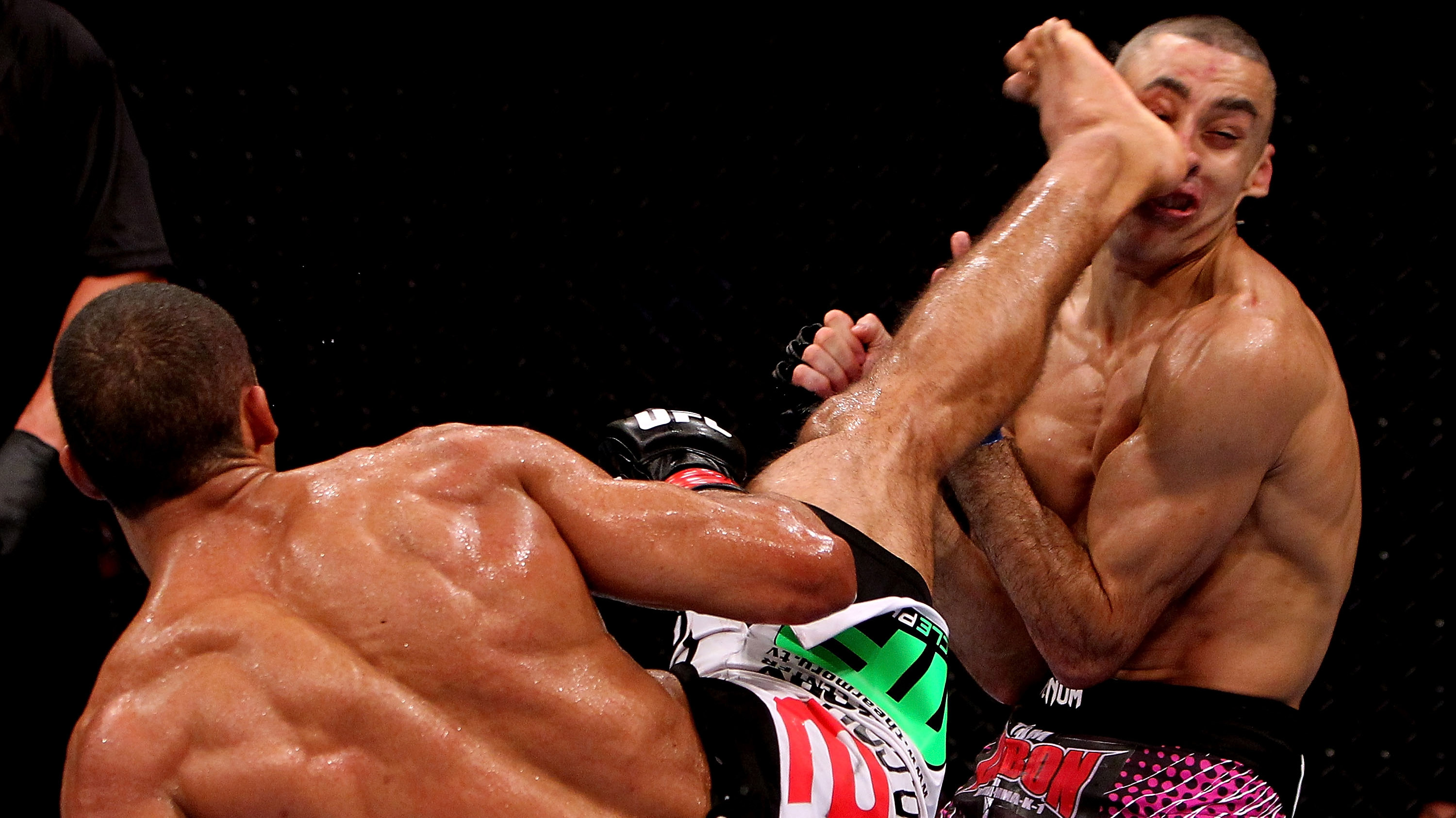 Edson Barboza (Photo by Josh Hedges/Zuffa LLC/Zuffa LLC via Getty Images)