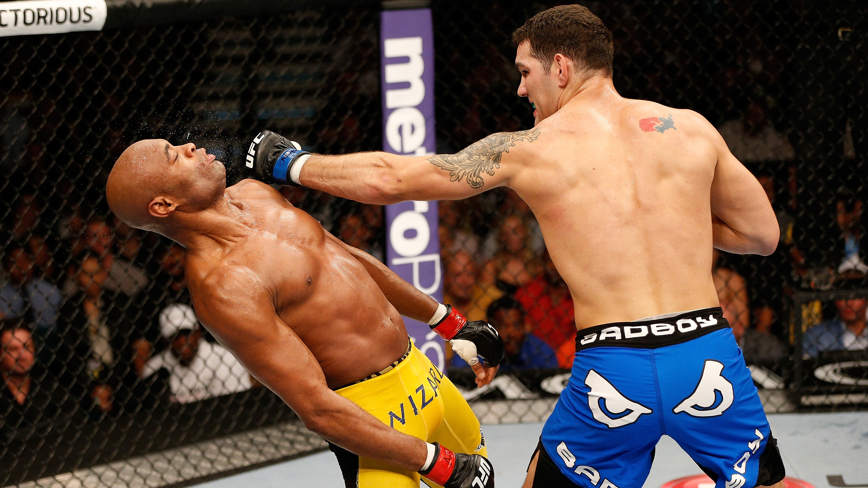 Weidman did what was once impossible - defeat 'The Spider' at UFC 162 (Photo by Josh Hedges/Zuffa LLC/Zuffa LLC via Getty Images)